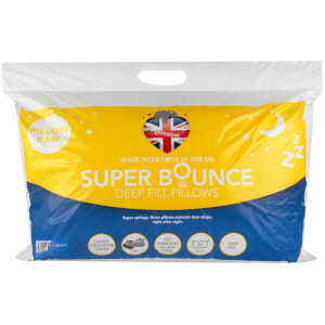 Dreamtime Super Bounce Twin Pack Pillows - White