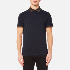 Calvin Klein Men's Jasto Pique Polo Shirt - Midnight