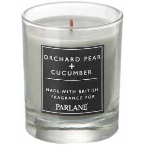 Parlane Pear & Cucumber Glass Votive Candle (8 x 7cm)