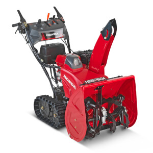 HSS760 TD 60.5cm Clearing Width Variable Speed Tracked Snowthrower (electric start)