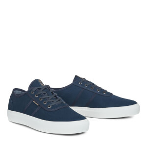 Jack & Jones Men's Austin Canvas Trainers - Navy Blazer