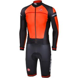 Castelli CX 2.0 Speedsuit - Orange/Black
