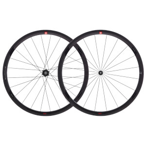 3T Orbis II C35 Pro Clincher Wheelset - Black - 35mm
