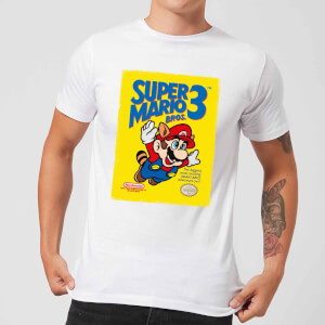 T-Shirt Nintendo Super Mario Bros 3 - Bianco - Uomo