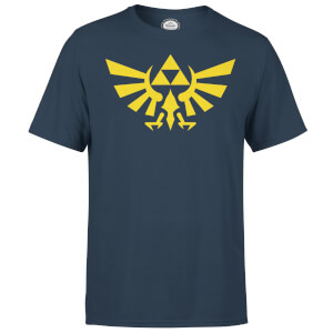 Nintendo The Legend Of Zelda Hyrule Men's T-Shirt - Navy