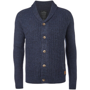 Threadbare Men's Danvers Cardigan - Navy Twist