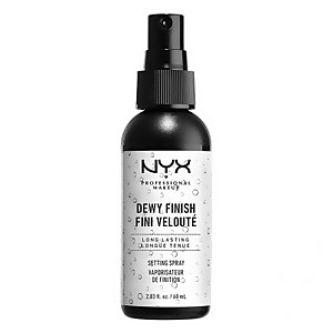 NYX Professional Spray Dewy Finish – Larga duración