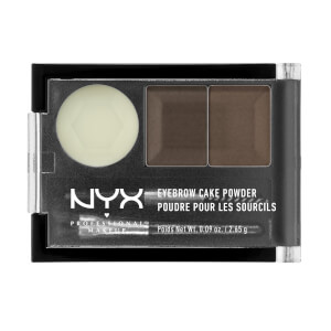 NYX Professional Makeup Maquillaje de Countouring Sculpt & Highlight Face Duo - Dark Brown/Brown