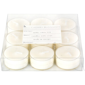 Broste Copenhagen Tealights - Cherry Blossom (Set of 9)