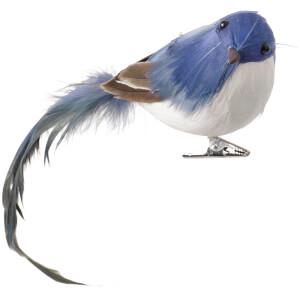 Broste Copenhagen Tori Bird Decoration - Blue
