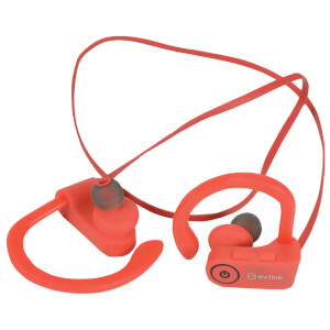 Écouteurs Bluetooth Waterproof Sans Fil AV: Link - Rouge