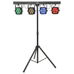 QTX PB-7 High Power Foldable LED Par Bar Disco Light