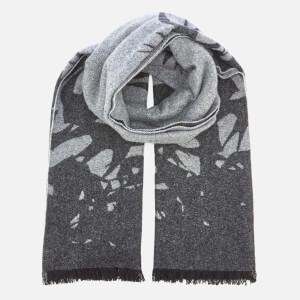 McQ Alexander McQueen Women's Swallow Degrade Wool Scarf - Charcoal