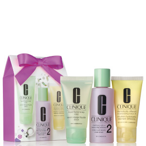 Clinique Great Skin 1-2-3 Set (Skin Type 1/2) (Worth £12.00)