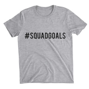 Squad Goals Women's Grey T-Shirt