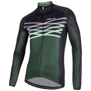 Nalini Merak Long Sleeve Jersey - Green/Black