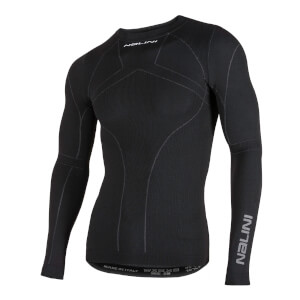 Nalini Giove Long Sleeve Baselayer - Black