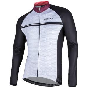 Nalini Algol Long Sleeve Jersey - White/Black