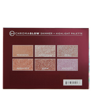 Sigma Chroma Glow Shimmer & Highlight Palette