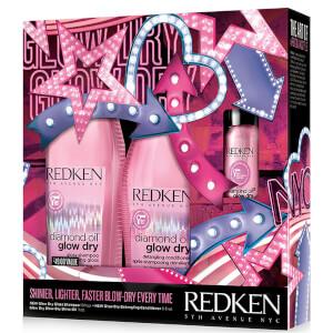 Redken Glow Dry Kit (Worth $49)