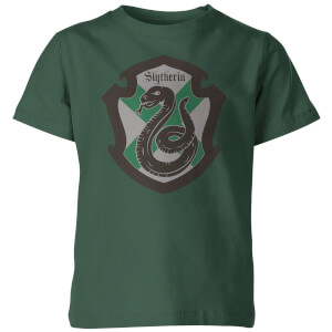 Harry Potter House Slytherin Kinder T-shirt - Groen