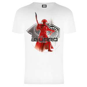 T-Shirt Star Wars The Last Jedi Elite Guard- Bianco - Uomo