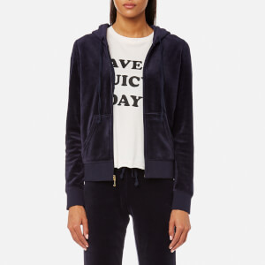 Juicy Couture Women's Track Velour Robertson Jacket - Regal