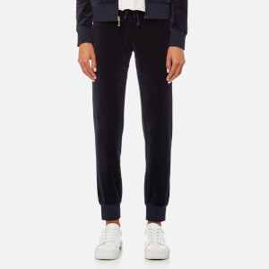 Juicy Couture Women's Track Velour Zuma Pants - Regal