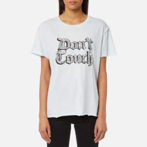Juicy Couture Women's Juicy By Juicy Don't Touch Embellished T-Shirt - Boulevard Blue