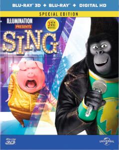 ¡Canta! (3D + versión 2D)- Steelbook Ed. Limitada