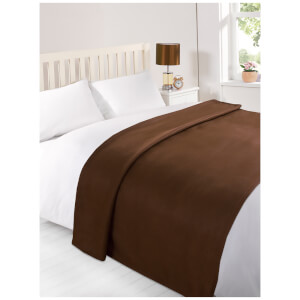 Dreamscene Soft Fleece Throw (120 x 150cm) - Chocolate