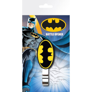 DC Comics Batman Logo Bottle Opener