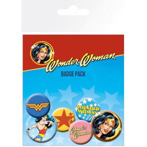 DC Comics Wonder Woman Mix Badge Pack