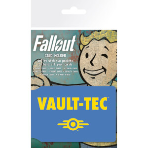 Fallout Vault Tech Card Holder