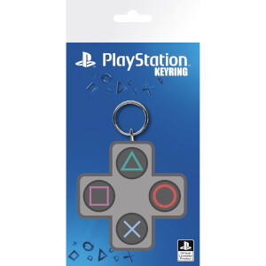 PlayStation Buttons Keyring