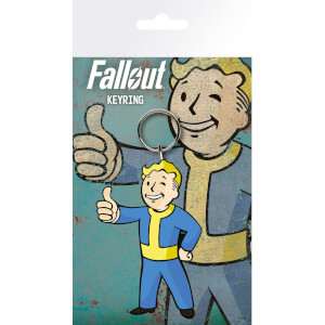 Fallout 4 Vault Boy Thumbs Up Keyring