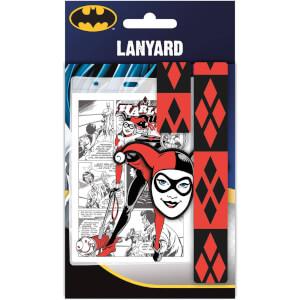 DC Comics Harley Quinn Lanyard