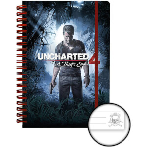 Uncharted 4 Cover A5 Notebook