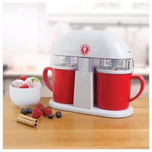 Global Gizmos Double Ice Cream Maker