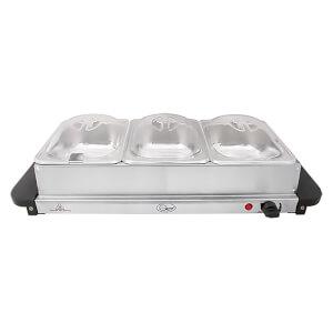 Quest Compact Buffet Server & Warming Plate