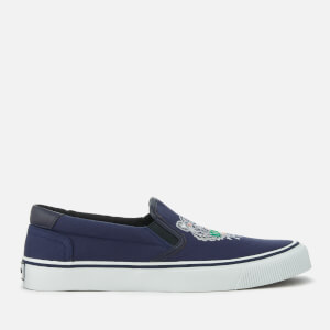 KENZO Men's K-Skate Basket Slip On Trainers - Navy Blue