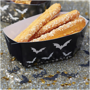 Ginger Ray Black Halloween Coffin Food Tray - Trick or Treat