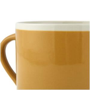 Nkuku Datia Mustard Short Mug - Mustard: Image 3
