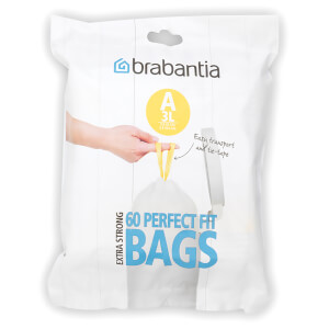 Brabantia PerfectFit Dispenser Pack A - 3 Litre (Pack of 60)