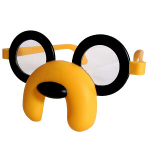 Adventure Time Face Glasses - JAKE