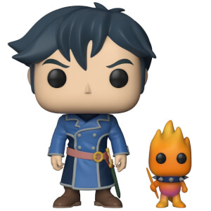 Ni No Kuni Roland with Higgledy Pop and Buddy Pop! Vinyl Figure