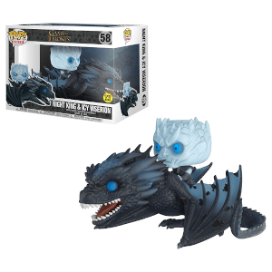 Game of Thrones Night King & Icy Viserion GITD Pop! Vinyl Ride: Image 2