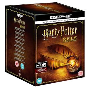 Harry Potter 8 Film 4k Ultra Hd Box Set Blu Ray Thehut De