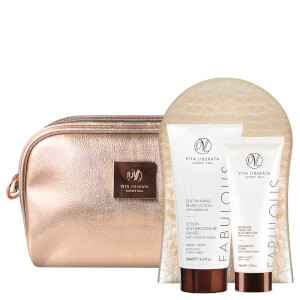 Vita Liberata Fabulously Flawless 3 Piece Luxury Tan Bag-Dark Lotion 200ml