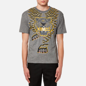 KENZO Special Knitted T-Shirt - Anthracite
